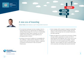A new era of investing
