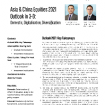 Asia & China Equities 2021 Outlook in 3-D