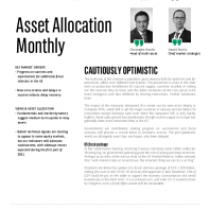 Asset Allocation Monthly – Cautiously Optimistic