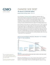 Chinese SOE Debt