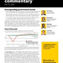 Downgrading government bonds