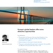 Europe's global leaders offer some attractive opportunities