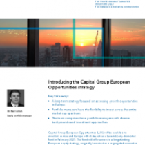 Introducing the Capital Group European Opportunities strategy