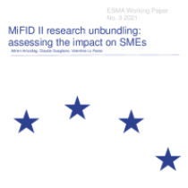MiFID II research unbundling: assessing the impact on SMEs