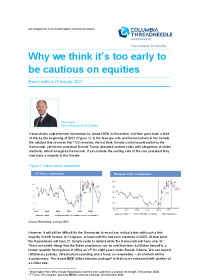 Why we think it's too early to be cautious on equities