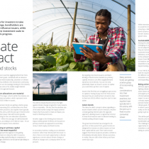 Climate impact Think beyond stocks