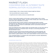 Concerns Rise as Interest Rate Normalisation Accelerates