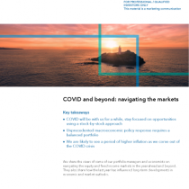 COVID and beyond: navigating the markets