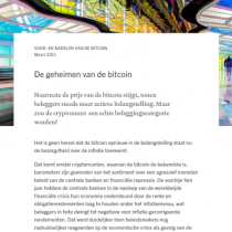 De geheimen van de bitcoin