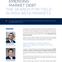 Emerging Market Debt The Search For Yield In High Beta Markets