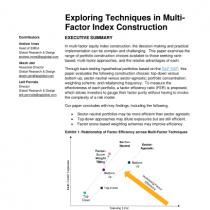 Exploring Techniques in MultiFactor Index Construction