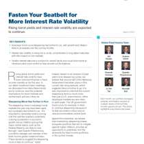 Fasten Your Seatbelt for More Interest Rate Volatility