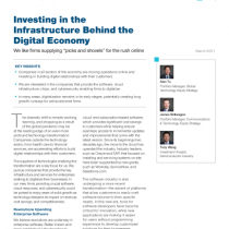 Investing in the Infrastructure Behind the Digital Economy