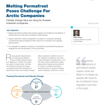 Melting Permafrost Poses Challenge For Arctic Companies