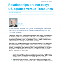 Relationships are not easy: US equities versus Treasuries