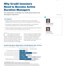 Why Credit Investors Need to Become Active Duration Managers