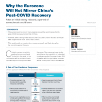 Why the Eurozone Will Not Mirror China's Post‑COVID Recovery