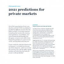 2021 predictions for private markets