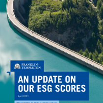 An update on our ESG scores