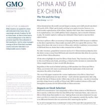 China and EM Ex-China