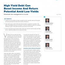 High Yield Debt Can Boost Income And Return Potential Amid Low Yields