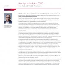 Nostalgia in the Age of COVID