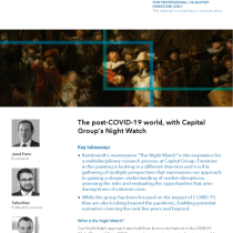 The post-COVID-19 world, with Capital Group's Night Watch