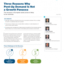 Three Reasons Why Pent‑Up Demand Is Not a Growth Panacea