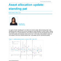 Asset allocation update: standing pat