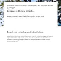 Beleggen in Chinese obligaties