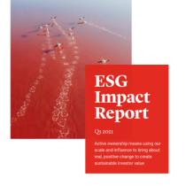 ESG impact report Q1 2021