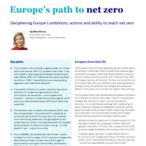 Europe's path to net zero