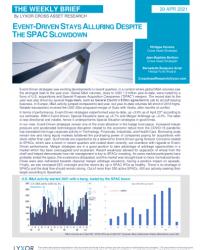Event-Driven Stays Alluring Despite the SPAC Slowdown
