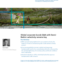 Global corporate bonds Q&A with Damir Bettini: selectivity remains key