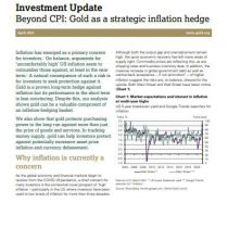 Beyond CPI: Gold as a strategic inflation hedge