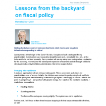 Lessons from the backyard on fiscal policy