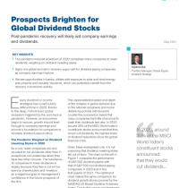 Prospects Brighten for Global Dividend Stocks