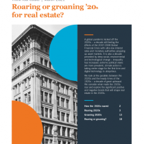 Roaring or groaning '20s for real estate?
