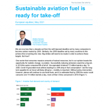 Sustainable aviation fuel is ready for take-off
