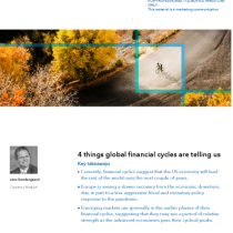 4 things global financial cycles are telling us