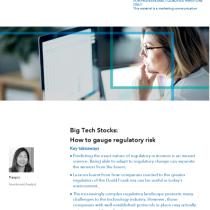 Big Tech Stocks: How to gauge regulatory risk