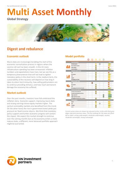 Digest and rebalance