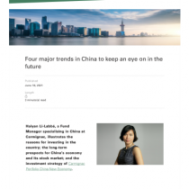 Four major trends in China to keep an eye on in the future