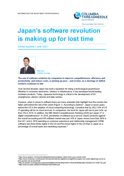 Japan's software revolution is making up for lost time