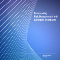 Reassessing Risk Management with Corporate Event Data