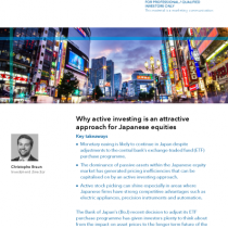Why active investing is an attractive approach for Japanese equities
