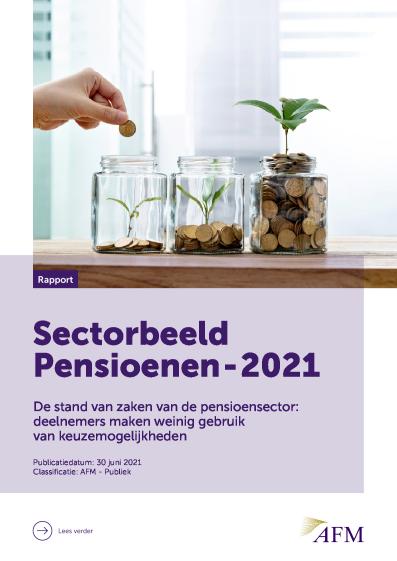 AFM – Sectorbeeld Pensioenen – 2021