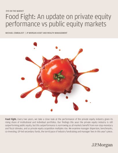 Food Fight: An update on private equity performance vs public equity markets