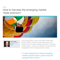 How to harness the emerging market 'triple premium'
