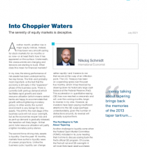 Into Choppier Waters